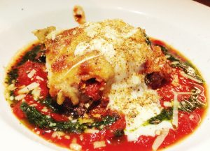 lasagna de Chorizo