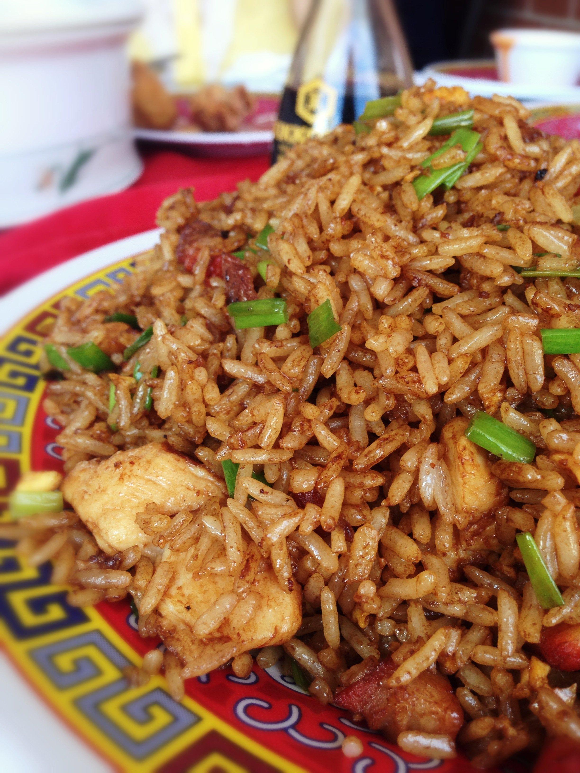 Chow Fan mixto, restaurant Expreso Gran Muralla