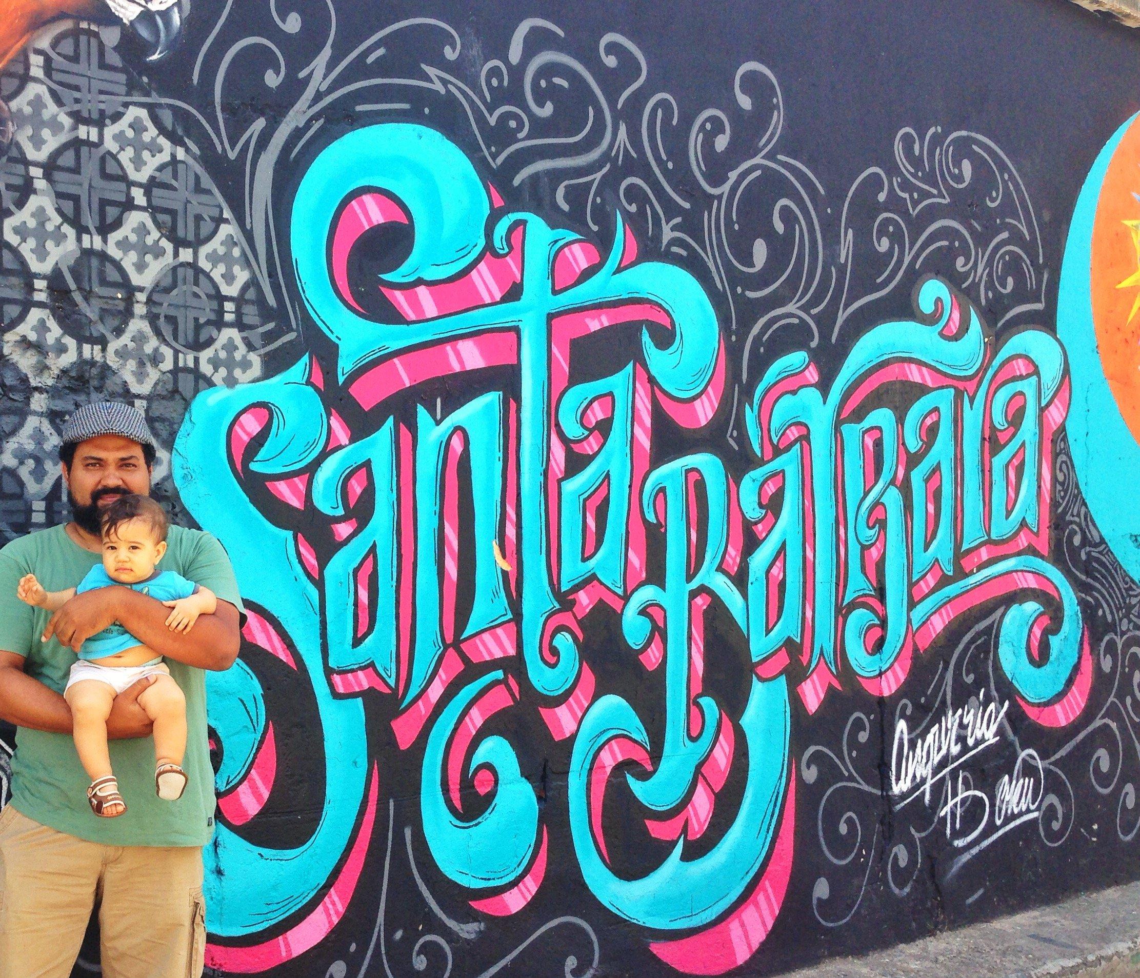 Juan Conde, el bebo y Angurria (solo su firma jaja) en Hoy Santa Barbara 2015