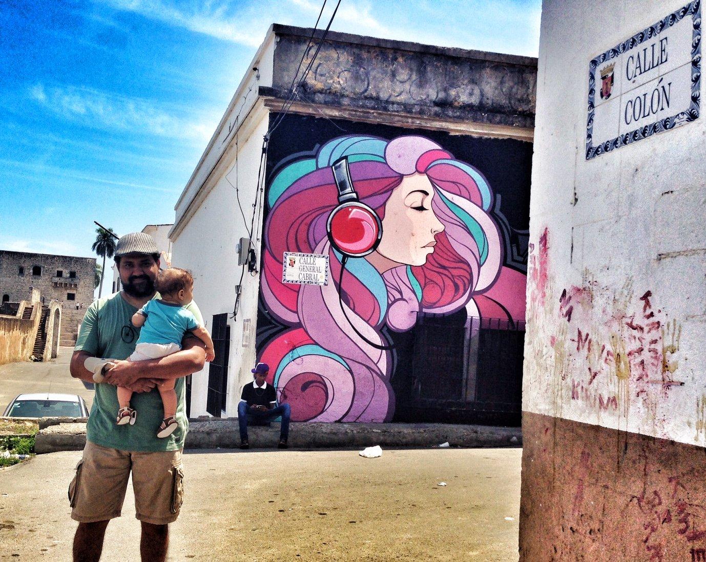 Esposo y Bebolo en pleno Hoy Santa Barbara 2015
