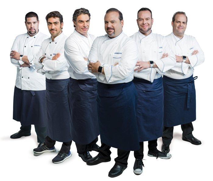 Chefs del Samsung Chef Experience
