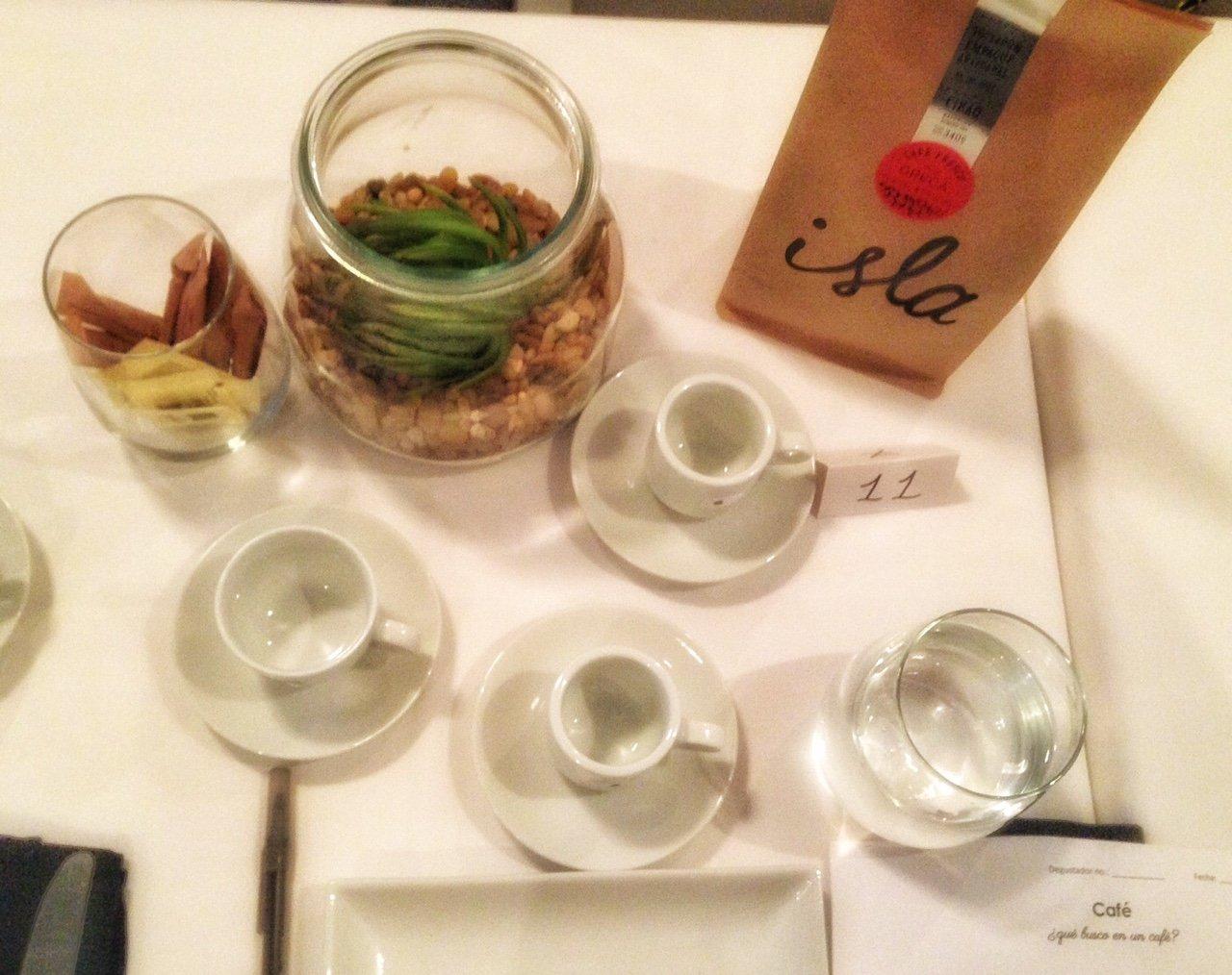 Maridaje y degustación de café
