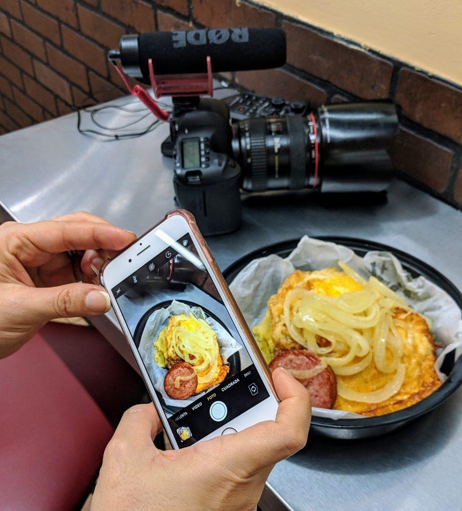Fotografía Móvil Mangú - Técnicas para escribir sobre viajes y comida