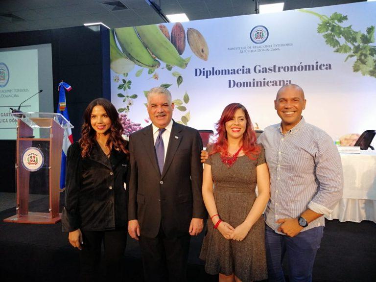 Lanzamiento de la diplomacia gastronomica de república dominicana
