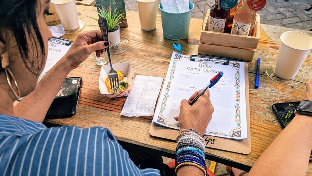 estrategia y percepcion en la escritura gastronomica