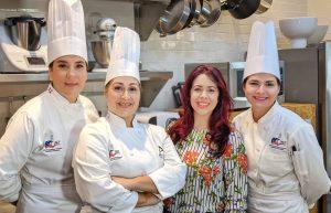 Elaine Hernandez asesora de comunicación equipo olimpico culinario dominicano