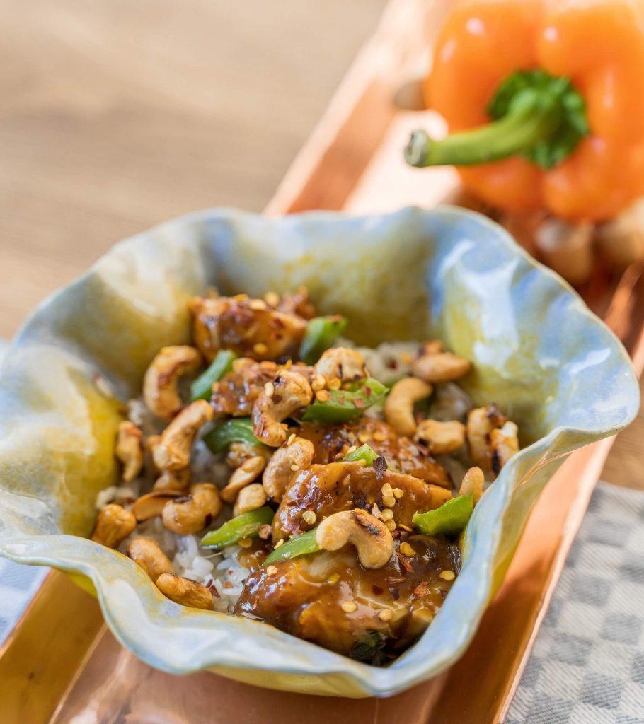 Stir Fry de Pollo a la Naranja de Casa Chef