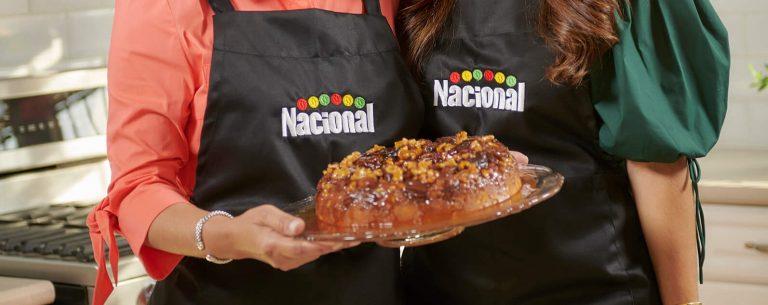 Angela Suarez Musa y Saralina Dauhare Suarez. Supermercados Nacional recetas.