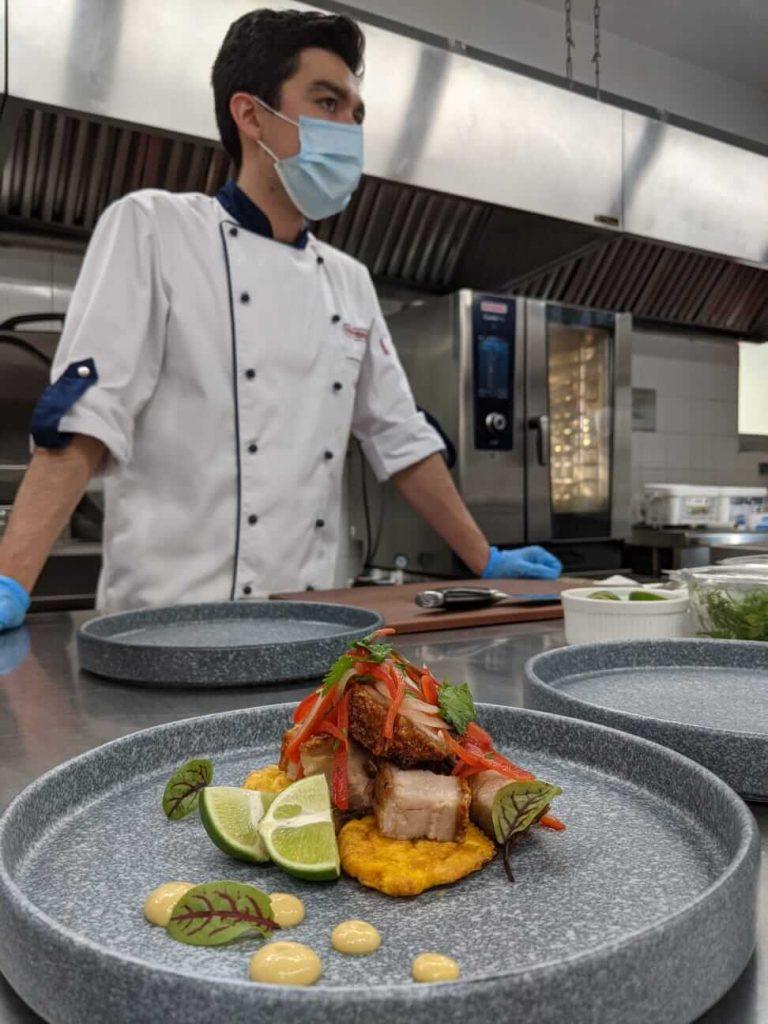 Chicharron y tostones cocinador en Ivario Pro y Icombi Pro